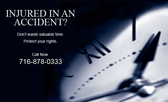 Injured in an Accident?  Don't waste valuable time.